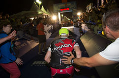 Ironman 2013 uitgave, Nice, Frankrijk Stock Afbeelding