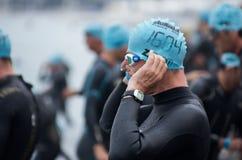 Ironman 2013 upplaga, Nice, Frankrike Arkivbild