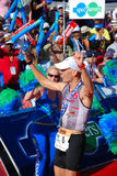 Ironman winner Stephen Bayliss stock image
