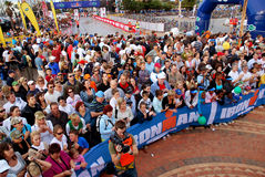 Ironman Zuschauer lizenzfreie stockfotos