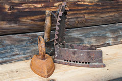 Irons Royalty Free Stock Photography