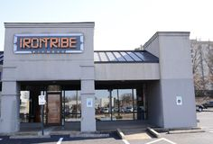 Irontribe Fitness, Memphis, TN. Irontribe Fitness and Performance offers you a high performance and high intensity training alternative to help clients achieve Stock Photos