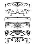 Ironwork balconies Royalty Free Stock Photography