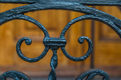 Ironwork in Charleston. Wrought Iron work in Charleston, South Carolina Royalty Free Stock Image
