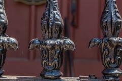 Ironwork in Charleston Stock Images