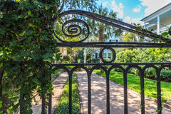 Ironwork in Charleston Stock Photography