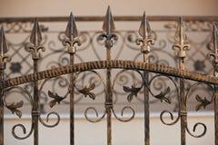 Ironwork fence Royalty Free Stock Image