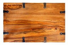 Ironwork wood Royalty Free Stock Images