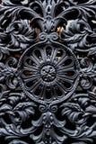 Ironworkdetalj av dörren Royaltyfria Bilder