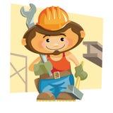 ironworker Vektor Illustrationer