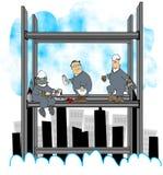 ironworkers διανυσματική απεικόνιση