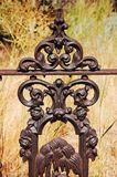 Ironworks fence Stock Images