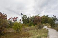 Iroquois σημείου φάρος Στοκ Εικόνα