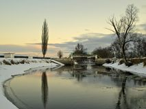 河irpen 免版税库存图片
