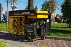 Portable Gasoline Generator for Emergency or Auxiliary Electric Power during various events