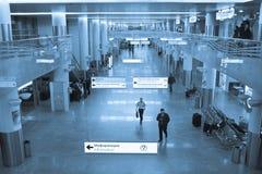 Irport Sheremetievo Terminal D Russie moscou Terminal D Image libre de droits