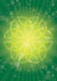 Irradia o celtic ilustração royalty free