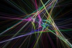 Irradia o fractal Imagens de Stock Royalty Free