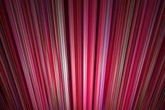 Irradiamento del fondo delle linee rosse Fotografie Stock Libere da Diritti