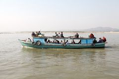 Irrawaddy river Myanmar Stock Photography