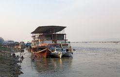 Irrawaddy river Myanmar Royalty Free Stock Photography