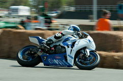IRRC Motorcycle race in Ostend Belgium Stock Photography