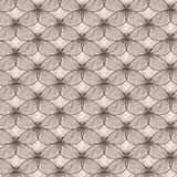 Irregular abstract seamless grid pattern Royalty Free Stock Photography