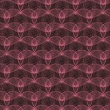 Irregular abstract seamless grid pattern Royalty Free Stock Photo