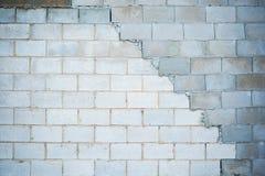 Irregular brick wall Stock Images