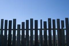 Irregular Fence Stock Image