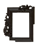 Irregular frame. Photo frame in irregular shape at white background Stock Photography