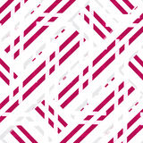 Irregular Geometric Stripe Abstract Pattern Royalty Free Stock Image