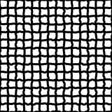 Irregular grid, mesh of hand drawn, sketchy lines. Irregular grid, mesh of hand drawn lines. Repeatable pattern. abstract monochrome background. - Royalty free Royalty Free Stock Image