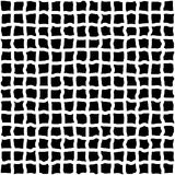 Irregular grid, mesh of hand drawn, sketchy lines. Irregular grid, mesh of hand drawn lines. Repeatable pattern. abstract monochrome background. - Royalty free Royalty Free Stock Photography