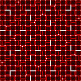 Irregular grid mesh with squares. Seamlessly repeatable duotone. Geometric pattern. - Royalty free vector illustration Royalty Free Stock Photography