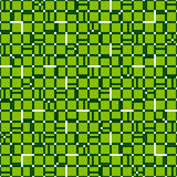 Irregular grid mesh with squares. Seamlessly repeatable duotone. Geometric pattern. - Royalty free vector illustration Royalty Free Stock Photo