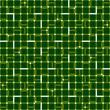 Irregular grid mesh with squares. Seamlessly repeatable duotone. Geometric pattern. - Royalty free vector illustration Royalty Free Stock Photos