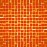 Irregular grid mesh with squares. Seamlessly repeatable duotone. Geometric pattern. - Royalty free vector illustration Royalty Free Stock Images