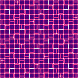 Irregular grid mesh with squares. Seamlessly repeatable duotone Stock Image