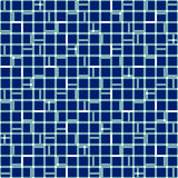 Irregular grid mesh with squares. Seamlessly repeatable duotone Royalty Free Stock Photography