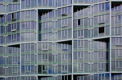 Irregular office building facade Royalty Free Stock Photography