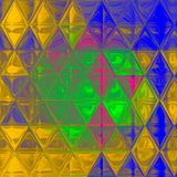 Abstract irregular polygon background triangle pattern in multi color. Irregular polygon background triangle pattern in multi color Royalty Free Stock Images