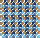 Irregular squares pattern Stock Images