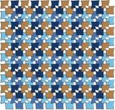 Irregular squares pattern Stock Images