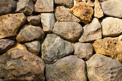 Irregular stone background Royalty Free Stock Image