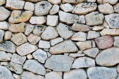 Irregular stone wall. Stock Images