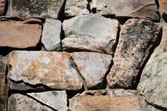 Irregular stonework. Pattern, background Stock Photography