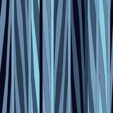 Irregular stripes seamless pattern. Vector texture. Irregular stripes seamless pattern. Repeating vector texture in nuance colors. Blue background Stock Photo