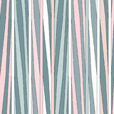 Irregular stripes seamless pattern. Vector texture. Irregular stripes seamless pattern. Repeating vector texture in nuance colors. Pastel background Stock Photography