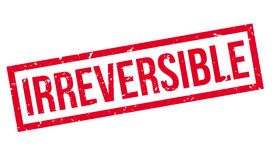 Irreversible rubber stamp Royalty Free Stock Photography